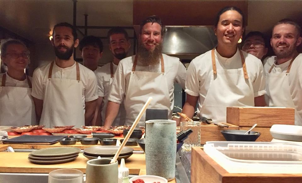 Kadeau, la squadra in cucina e in sala