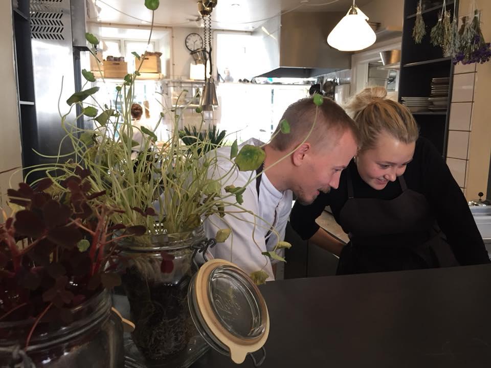 Ol & Brod, la cucina a vista