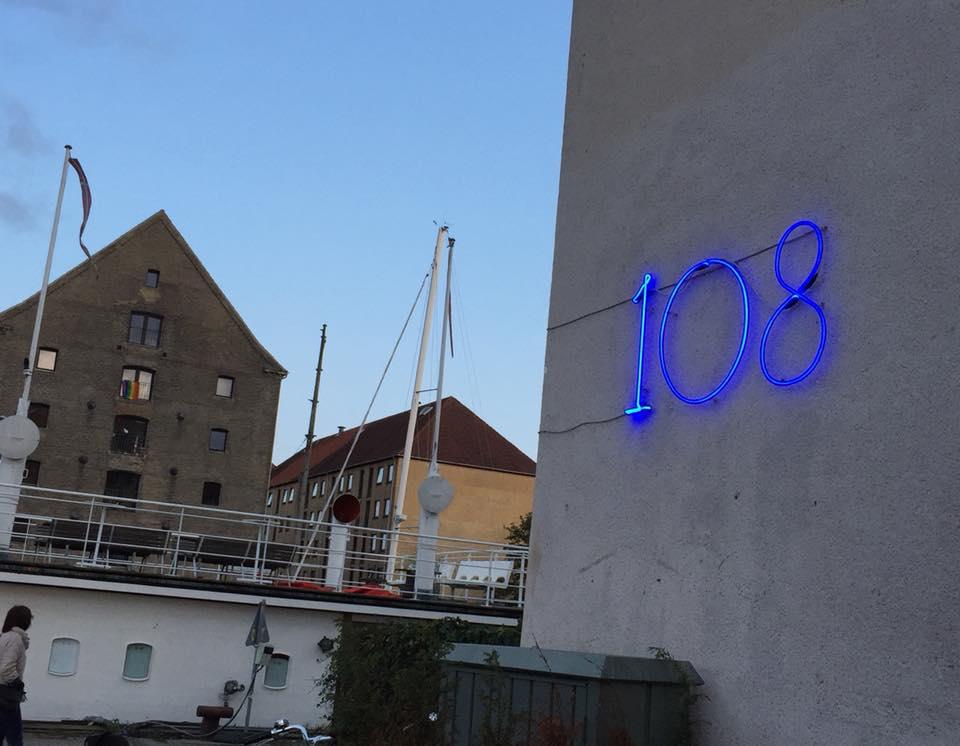 108 restaurant a Copenhagen, l'ingresso