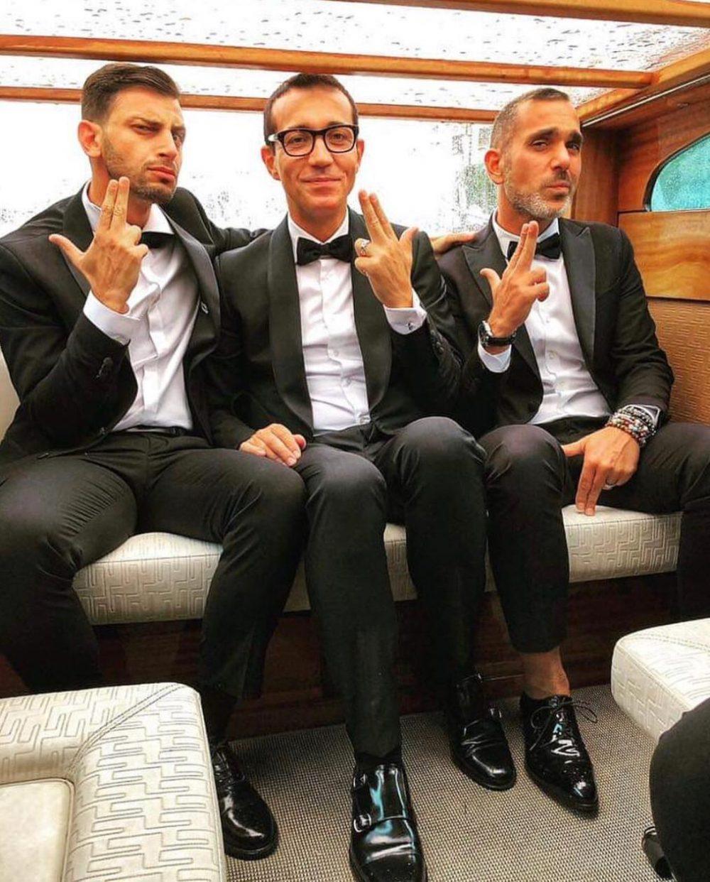 Gino Sorbillo, Marco Infante, Pasquale Falcone
