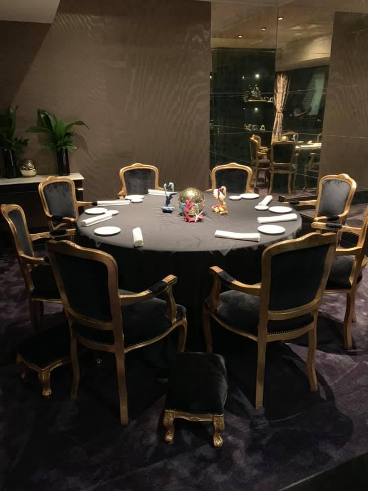 Grand Hotel Parkers, la sala