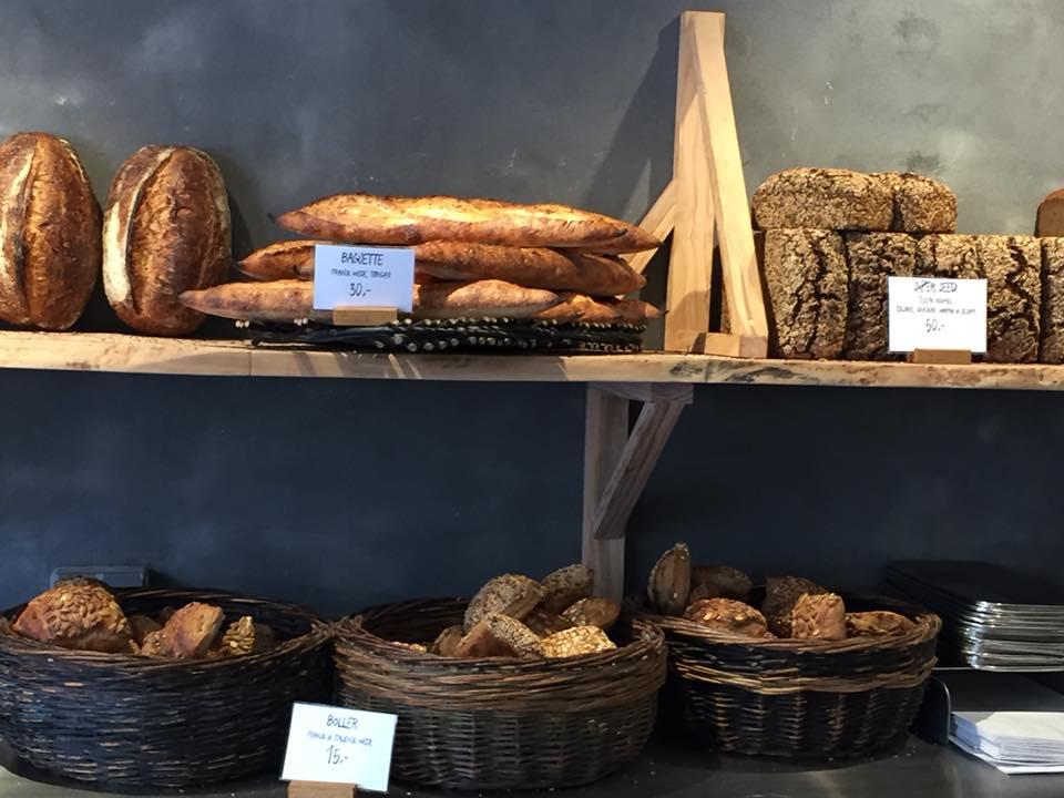 Hart Bageri, uno scorcio dei diversi tipi di pane
