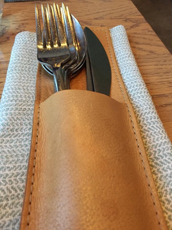 108 restaurant a Copenhagen, le posate