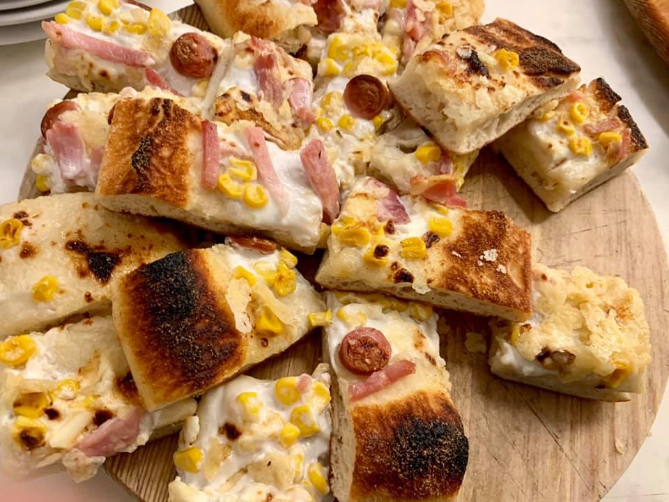 Varnelli, aperitivo con pizza in teglia