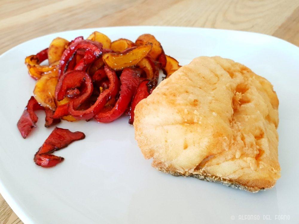 Baccala' fritto con papaccelle