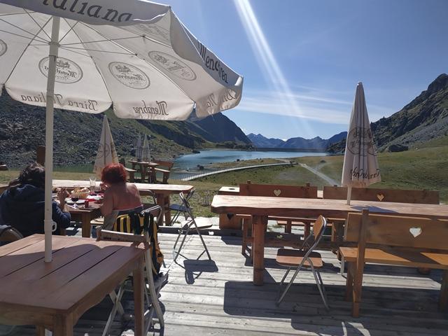 Bar Gabiet Ristoro See - il panorama
