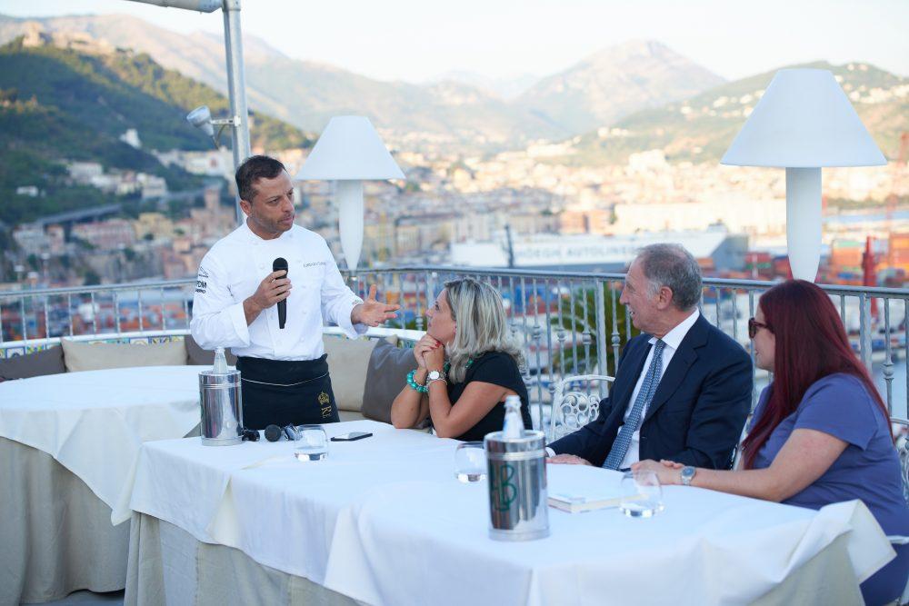 Chef Lorenzo Cuomo Ristorante Re Mauri'