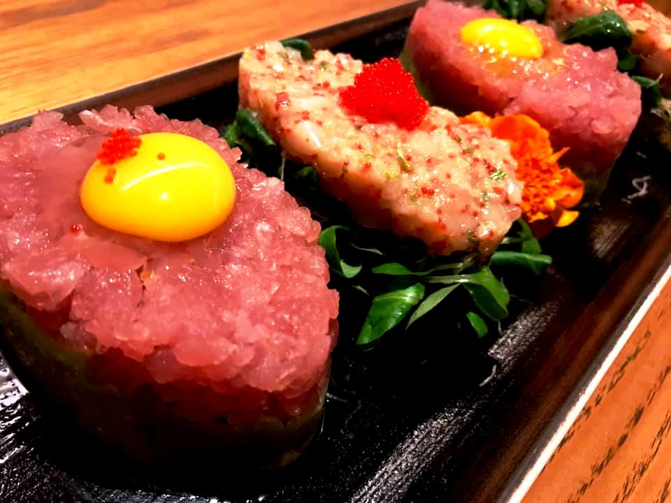 Jorudan Sushi - Tartare di Tonno e Gambero Rosso