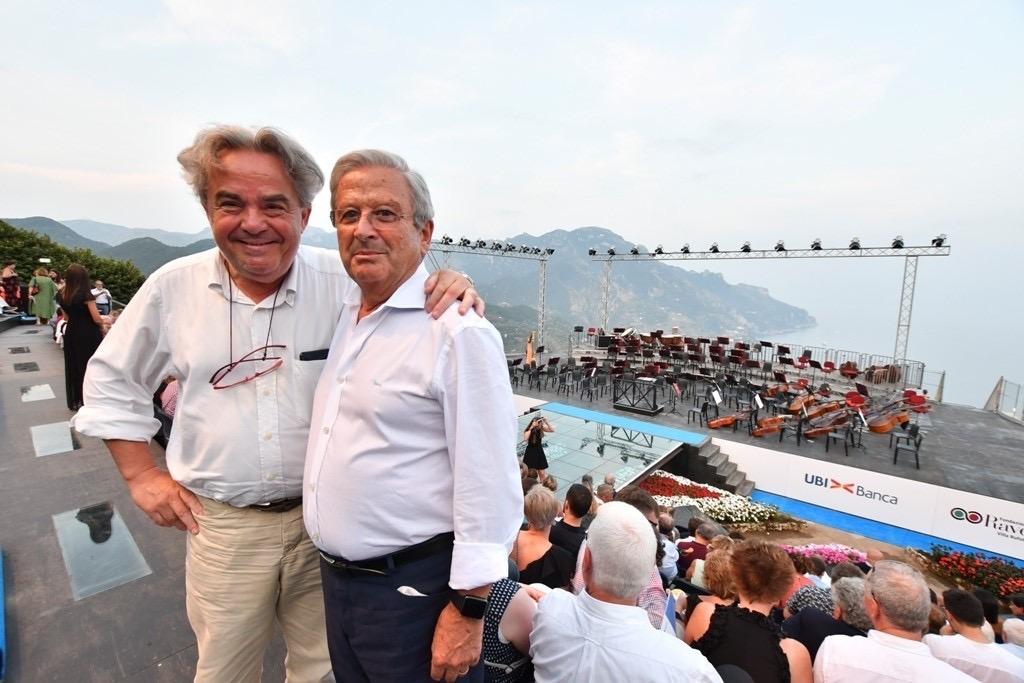 Floriano Panza e Mauro Felicori
