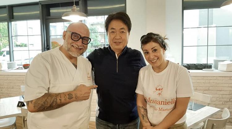 Francesco Martucci, Hidaka Yoshimi e Lilia Colonna