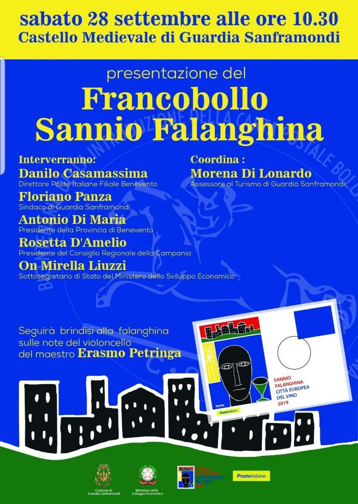 Francobollo celebrativo di Sannio Falanghina