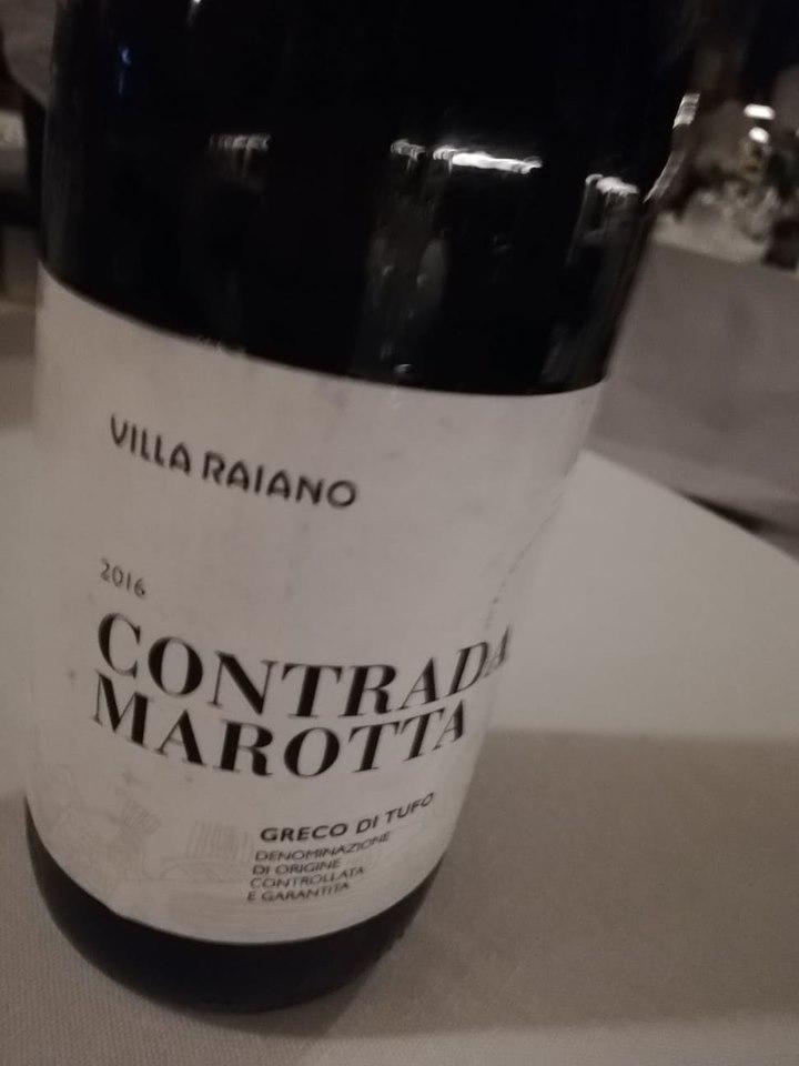GIARDINI DEL FUENTI - Greco di Tufo, Villa Raiano, Contrada Marotta 2016