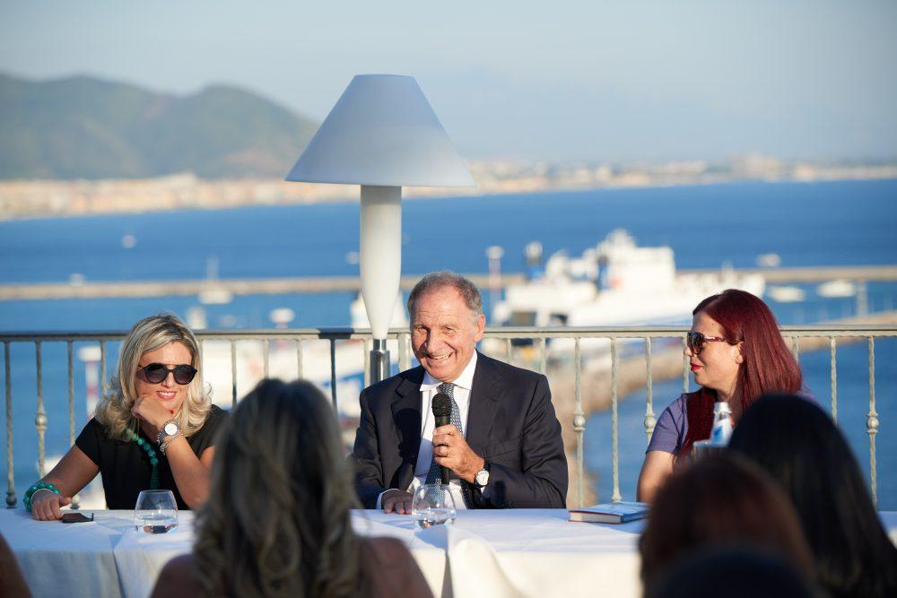 Hotel Lloid's Baia - Prof. Nicola Sorrentino tra Manuela Russo e Nunzia Gargano