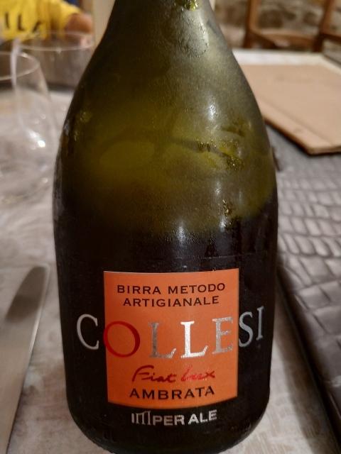 Il Fiorentino - birra artigianale ambrata Collesi