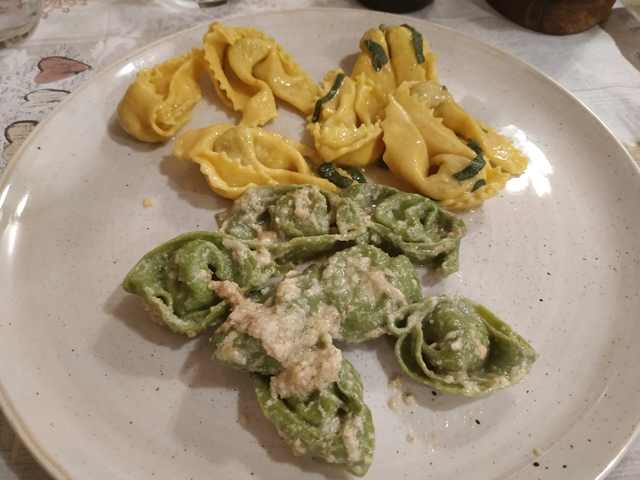 Il Fiorentino - tortelli d'anatra e cappellacci alle noci