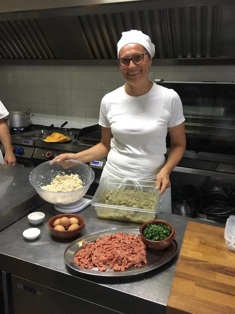 La Cantina - la chef