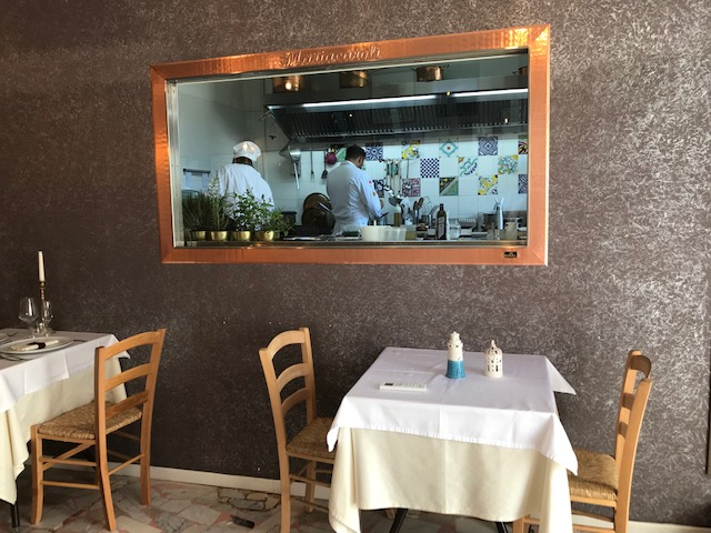 Locanda Mariacaroli' - cucina a vista