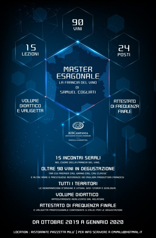 Master Esagonale – La Francia del vino