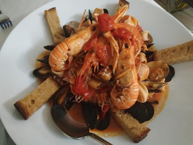 Osteria Nobili - Guazzetto alla Livornese