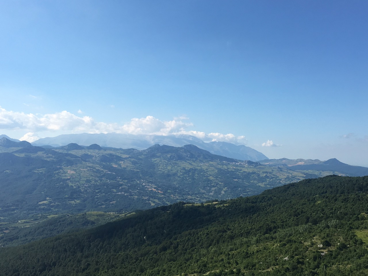 Paesaggio da Capracotta