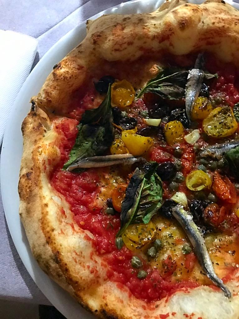 Pizzeria Raffaele Zaccariello - pizza La mia marinara