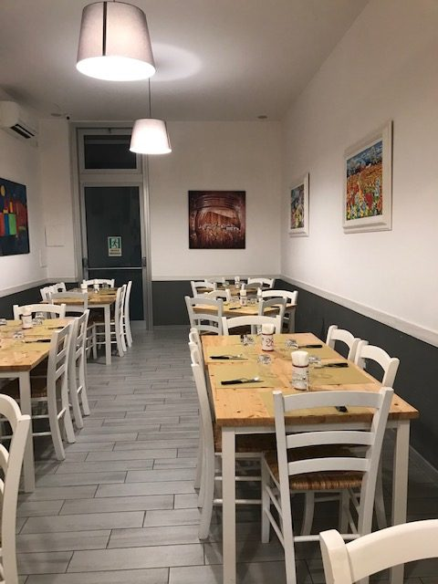 Reginella Pizzeria - sala interna