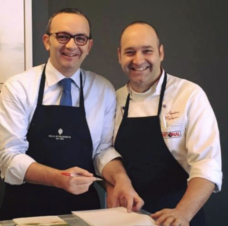 Ristorante Costanzo - Chef Agostino Malapena e il metre Massimo Turco