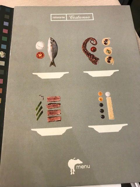 Ristorante Costanzo - menu'