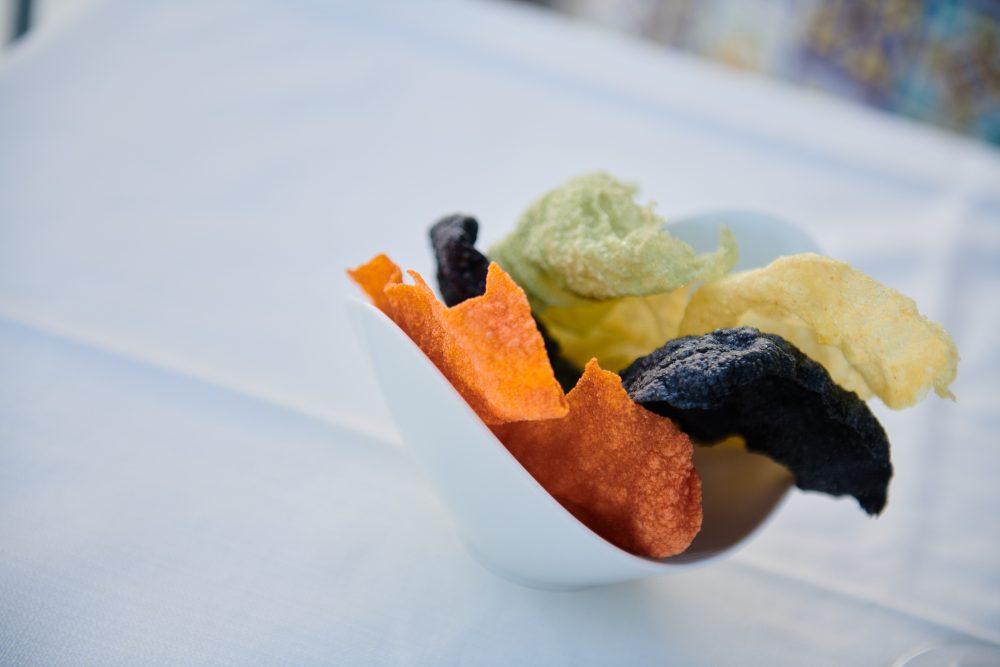 Ristorante Re Mauri' Sfoglie di cereali soffiate