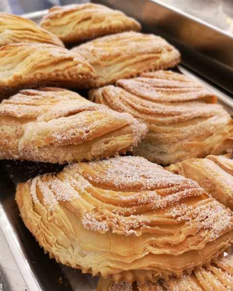 Sabot Bakery Cafe' - la sfogliatella di Roccasecca - foto di Fedora d'Orazio