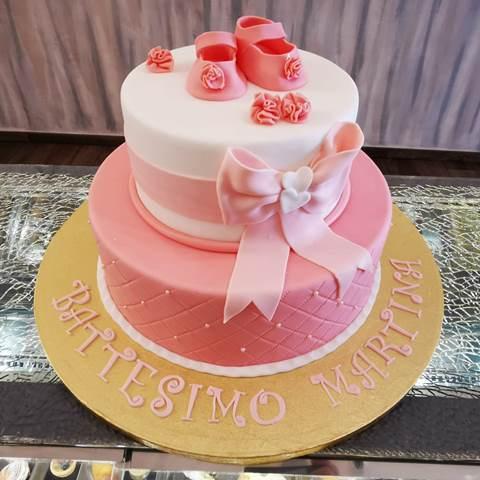 Sabot Bakery Cafe' - torta decorata con pasta da zucchero
