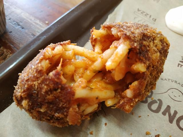 Tavolo sociale del Panificio Bonci - suppli' di pasta