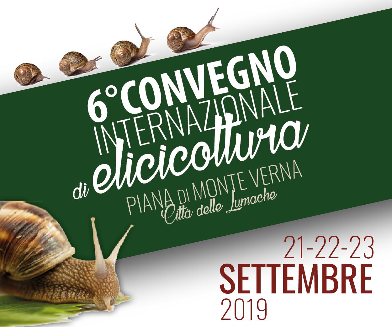 6° convegno internazionale di elicicoltura