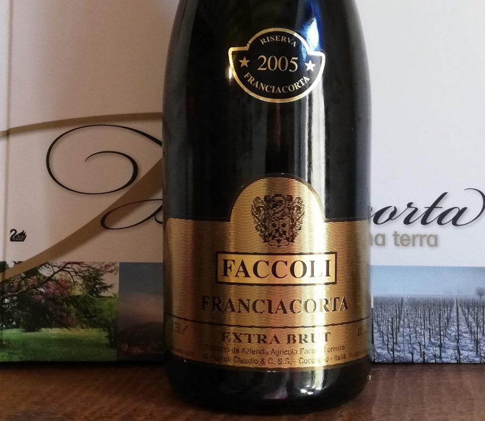 Franciacorta DOCG Extra Brut 2005 Riserva, Faccoli
