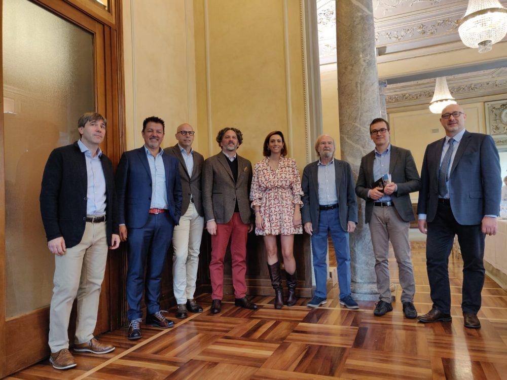 Magnoli, Gasser, Capelli, Heinz, Vezzola, Brozzoni, Bonini, Alpi