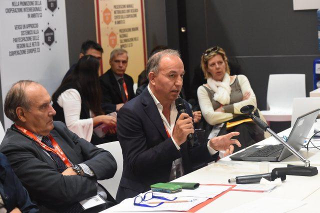 Il prof. Gianni Quaranta presenta il progetto BIOWINE allo SMAU di Milano 2019