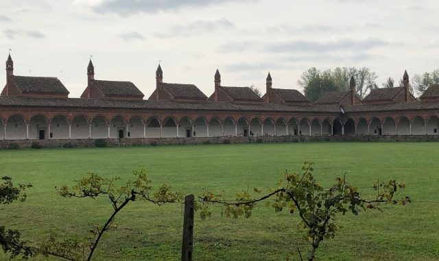 Certosa di Pavia, le celle degli eremiti
