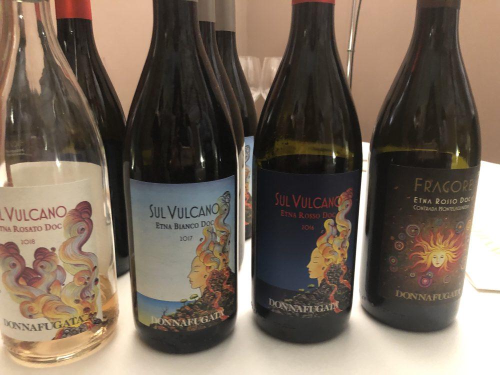 Donnafugata e i vini che nascono sull'Etna