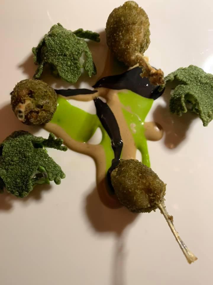 Massimo Bottura, frogs & Chips. Rane e lumache