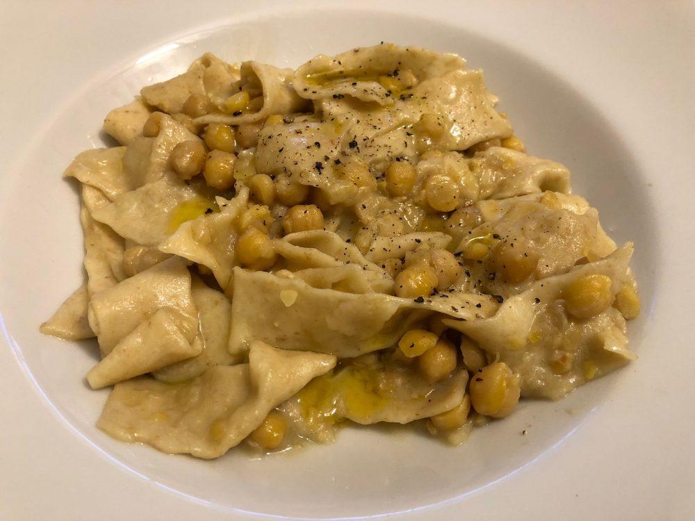 Osteria Diabasis, Ascea, lagane&ceci