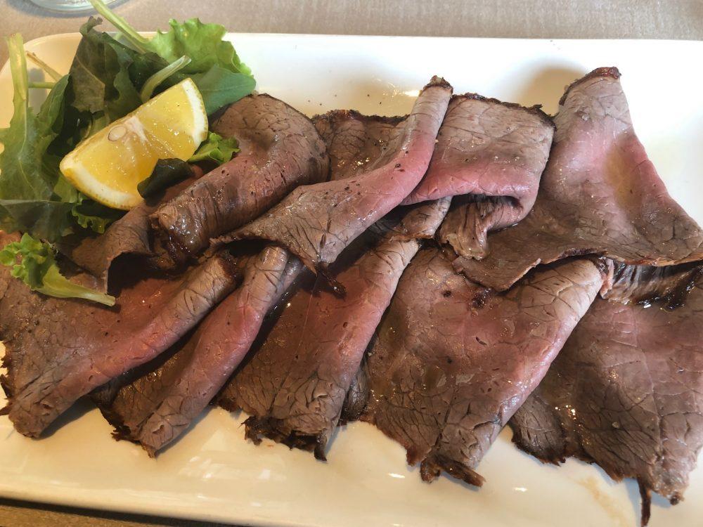Lipen, roast beef di manzo all'inglese