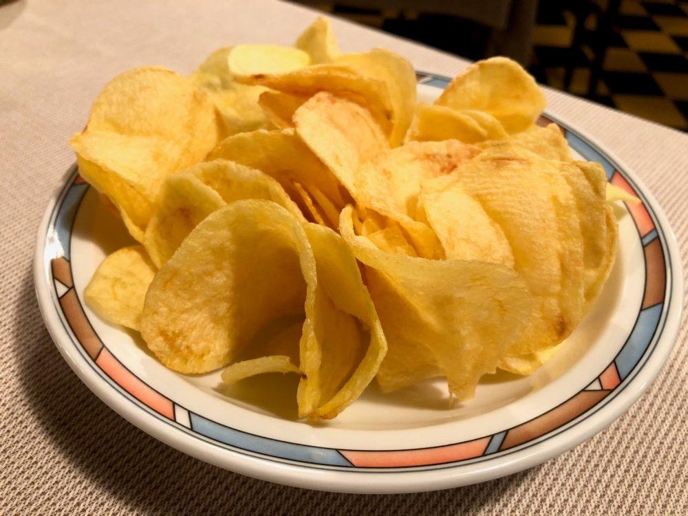 Antica Trattoria del Gallo, patatine fritte