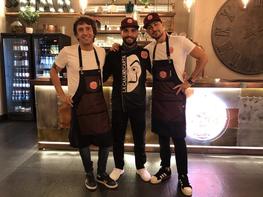380' Officine della pizza - Adriano Cascella, Simone De Gregorio e Salvatore Di Stasio