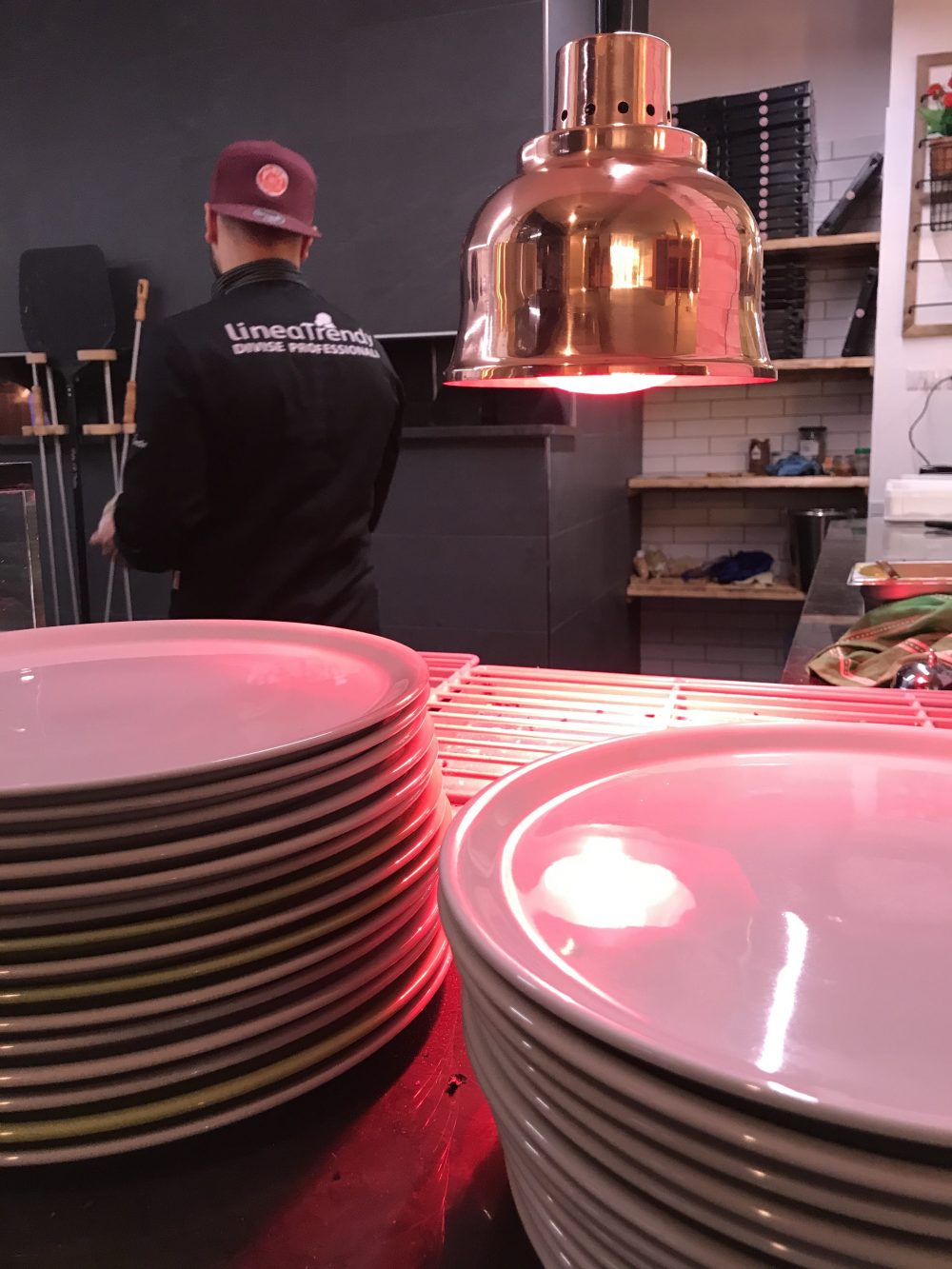 380' Officine della pizza - lampada riscaldante per alimenti