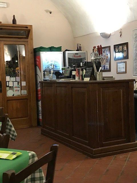 Antica Pizzeria Osteria Pepe - ingresso