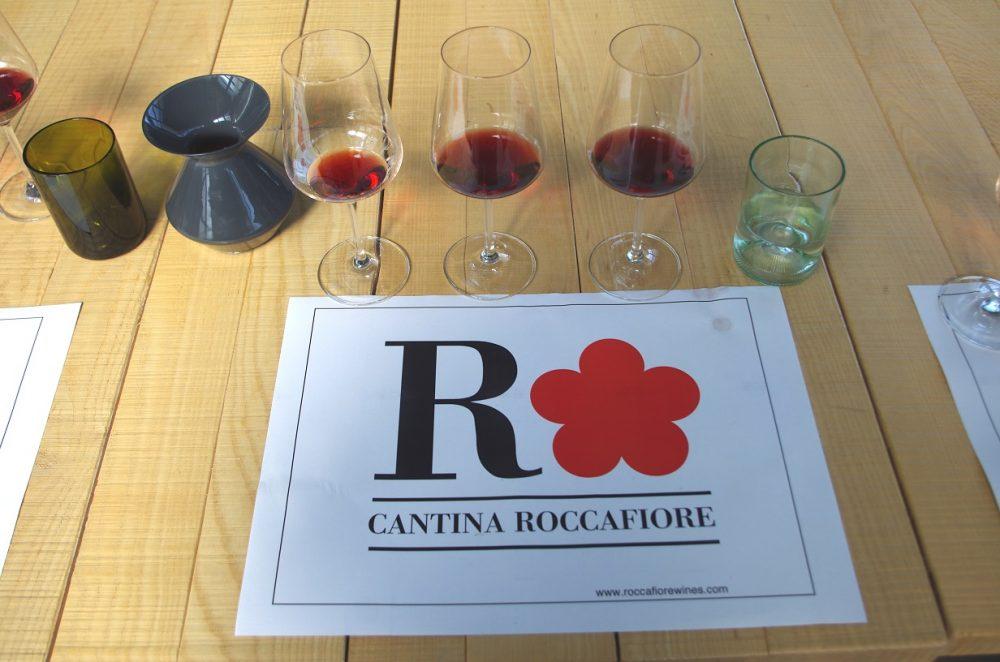 Cantina Roccafiore - La Degustazione