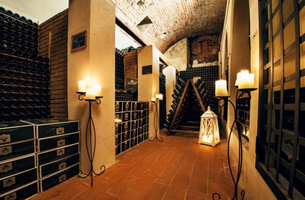 Castello Bonomi - cantina
