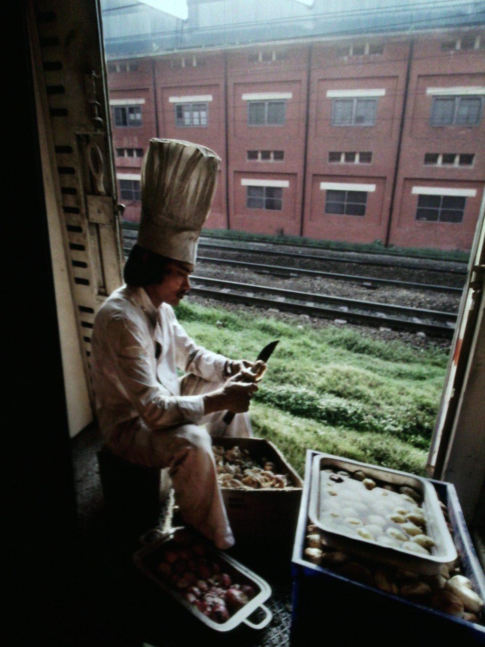 Cibo- La sala deIle spezie, il cuoco