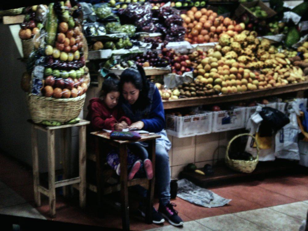 Cibo- La sala delle spezie, il banco del mercato