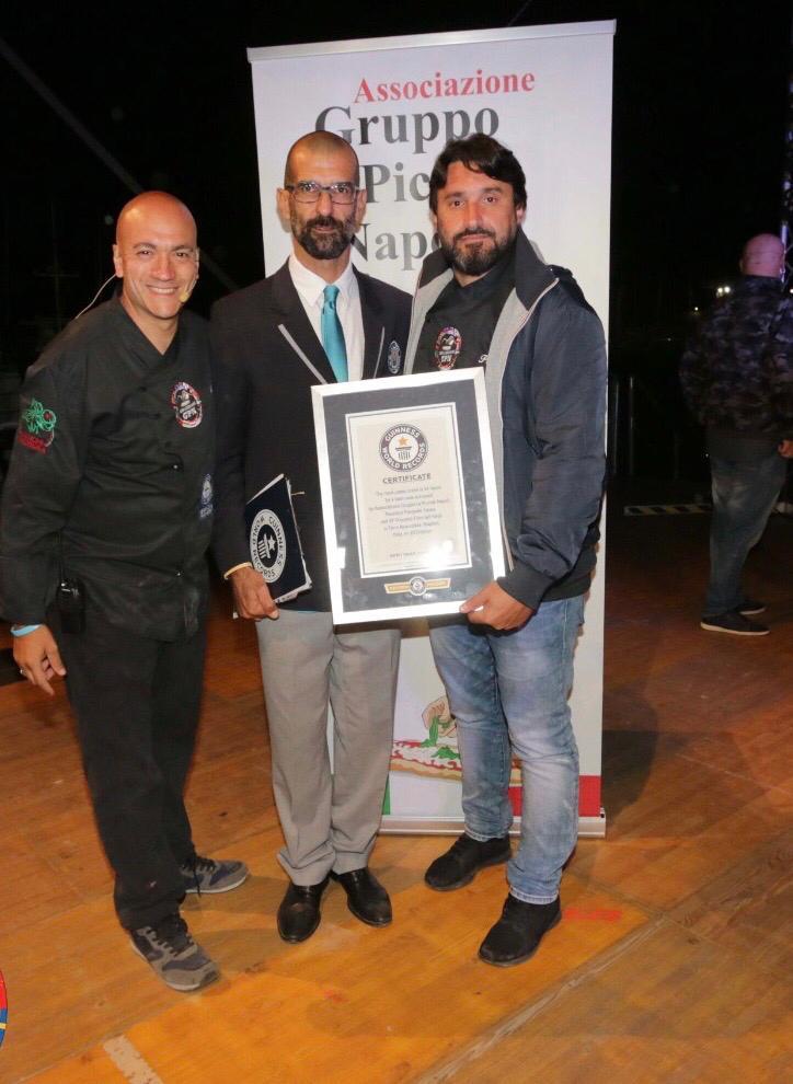 Guinness World Record - Consegna attestato del record